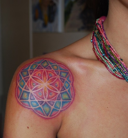 Tattoos · Page 1. Sacred Geometry Mandala