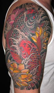 Lotus Flower Picture on Looking For Unique Nature Animal Tattoos Tattoos  Koi And Lotus Flower