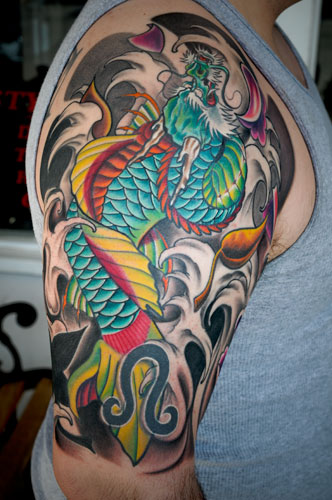 Tattoos. Tattoos Traditional Japanese Koi Fish. untitled
