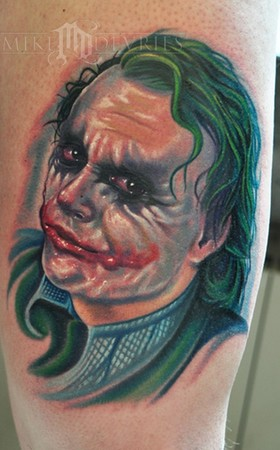 Tattoos. Tattoos Evil. Joker Tattoo. Now viewing image 13 of 40 previous