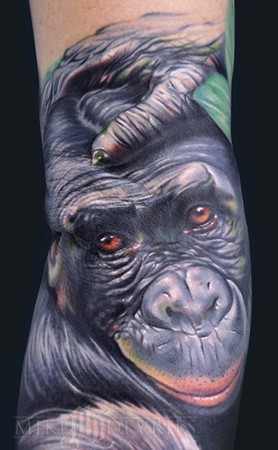 Mike DeVries - Monkey Tattoo Large Image Leave Comment