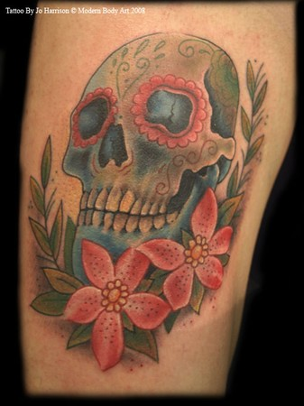 girl skull tattoos. Looking for unique Tattoos?
