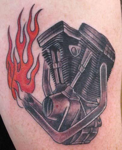 Motor Tattoo Designs Motor tattoo