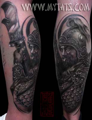 Tattoos · Page 1. China Warrior. Now viewing image 2271 of 3954 previous