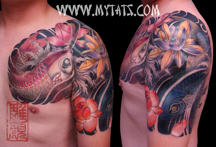 1000+ images about Koi Fish Tattoos on Pinterest