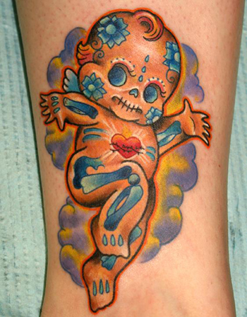 Looking for unique Tattoos? Dead Kewpie Doll