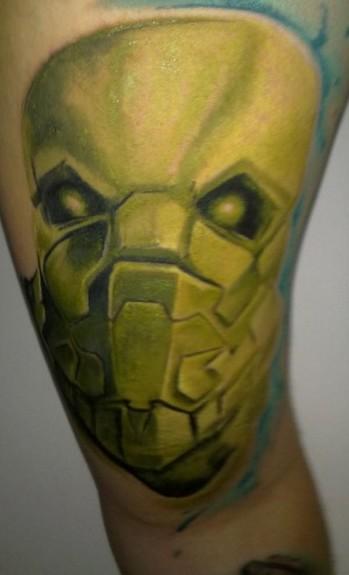 tattoo robot. Robot Tattoo