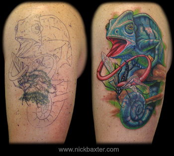 Chameleon+tattoo+meaning