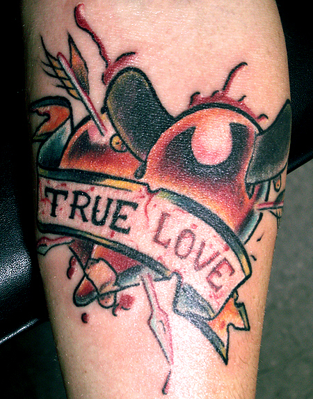 True love by nick filth tattoonow for New hampshire tattoo