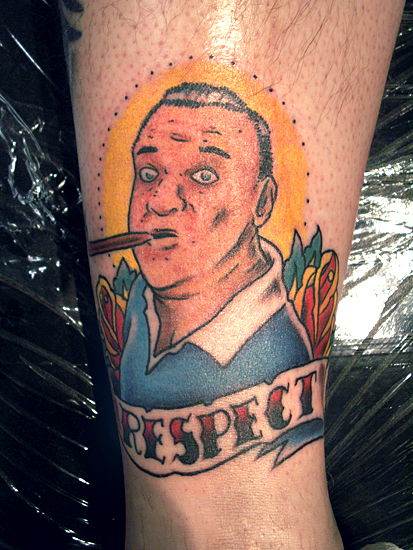 Rodney dangerfield by nick filth tattoonow for New hampshire tattoo