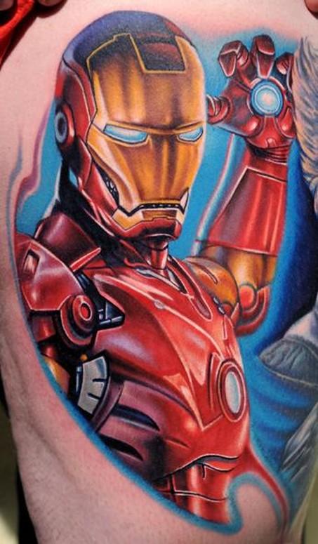 spqr tattoo. Iron Man tattoo