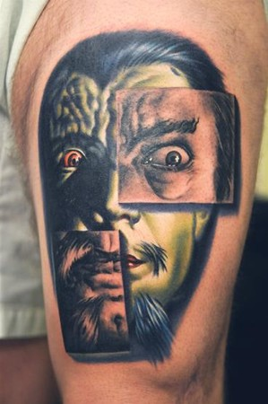 Looking for unique Tattoos? Bob Tyrrell and Nikko collaboration tattoo