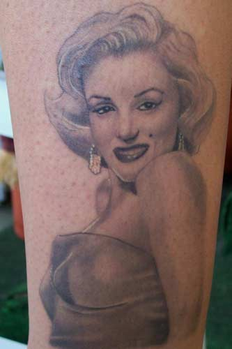 Looking for unique Carlos Rojas Tattoos Marilyn Monroe Pin Up Tattoo