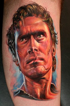 Evil Tattoo Designs Looking for unique Tattoos? Ash from Evil Dead Tattoo