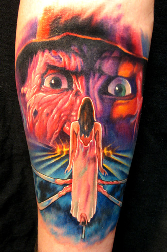 Looking for unique Tattoos? Nightmare on Elm st. 3