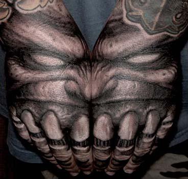 skull tattoos on hands. Skull tattoos,