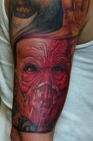 Randy Prause - dr satan. Large Image. Keyword Galleries: Color Tattoos,