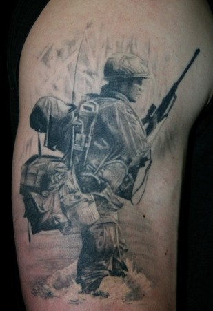 Soldier Tattoos