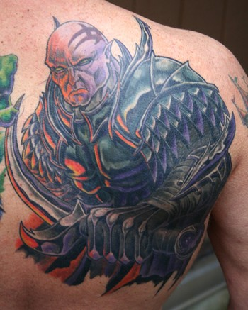 Medieval Warrior Riding Horse Tattoos on Off The Map Tattoo Tattoos Evil Fantasy Warrior Guy