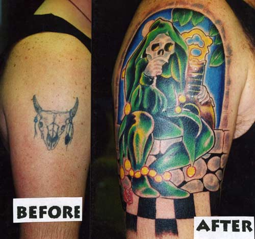 Tattoos. Tattoos Coverup. Grateful Dead. Now viewing image 7 of 7 previous