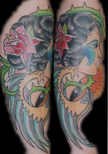 Mexican tattoos, designs, pictures, and ideas. Browse through our collection