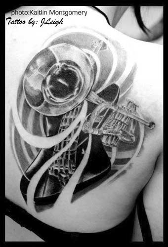 musical tattoo designs. designs cost? Keyword