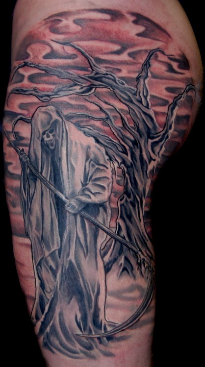Tattoo Grim Reaper