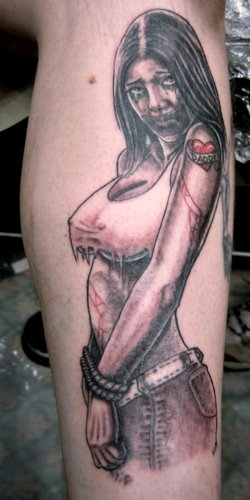 To Do List Tattoo. Comments: Love to do Pin-ups.