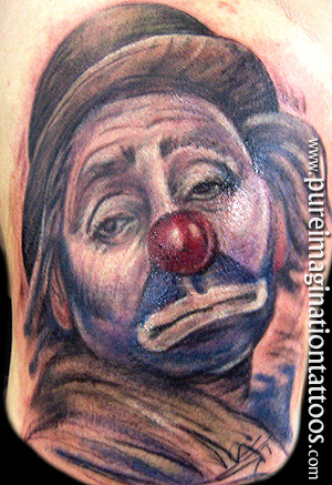 clowns tattoo
