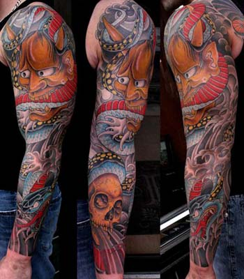 Japanese  Sleeve Tattoo Designs on Tattoos   Erick Lynch   Japanese Sleeve
