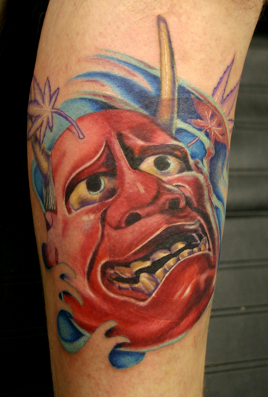 Labels: Japanese Hannya Tattoo Art mikes tattoos and body piercing tattoos