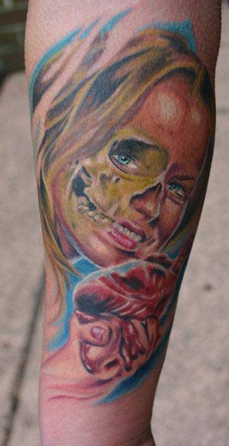 girl skull tattoos. Skull Tattoos,