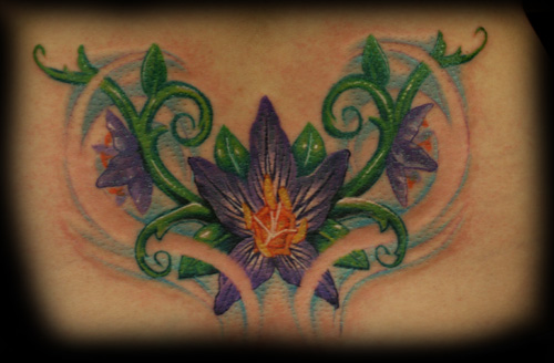 flower lily tattoos. Flower Lily Tattoos