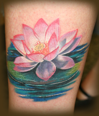 Cool Flower Lotus Tattoos Ideas For Women Picture 6