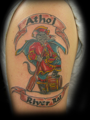 Jesse Rix - athol pride tattoo! Keyword Galleries: Color Tattoos