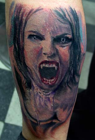 Vampire Tattoo Pictures