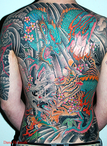 New Japanese Back Body Tattoos