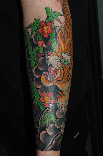 Keyword Galleries Traditional Japanese Tattoos Nature Animal Tiger Tattoos