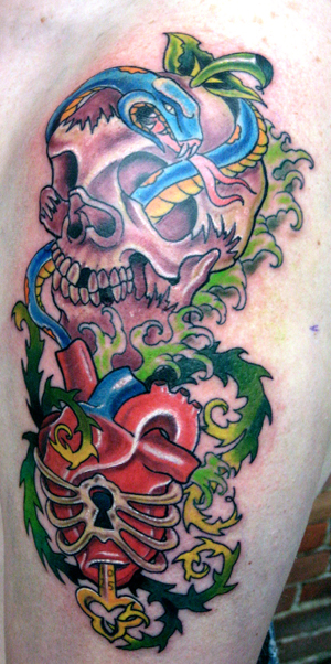 Heart Tattoo Traditional. Looking for unique Tattoos?