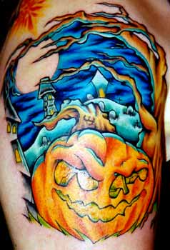 Document moved for Tattoos of pumpkins