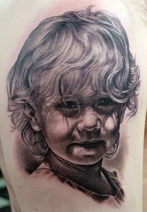 Portrait tattoo artists wales