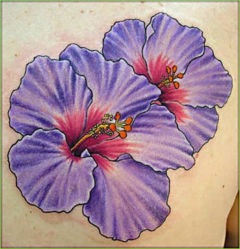 Looking for unique Flower tattoos Tattoos? Purple Flower Tatoo