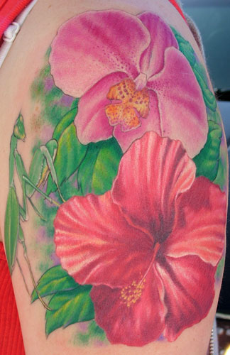 Orchid Flower Tattoos