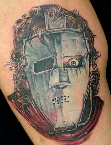 Joker Mask Tattoo. Posted by nt at 7:28 AM