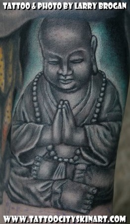Buddha Tattoos on Looking For Unique Color Tattoos Tattoos  Praying Buddha