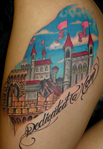 Looking for unique Fantasy tattoos Tattoos? Castle click to view large image