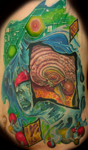 Looking for unique Color tattoos Tattoos? Abstract composition