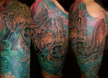 Querias Tatuajes Impresionantes Aca Tenes