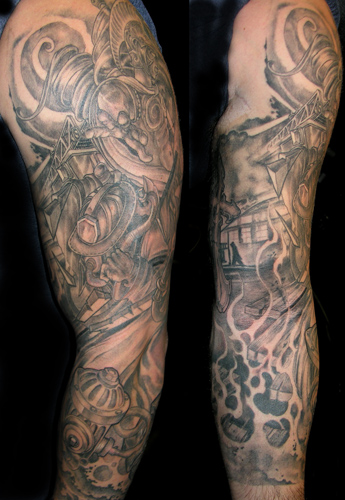 firefighter tattoos bull tattoo design. Ada OK Tattoos Image Results