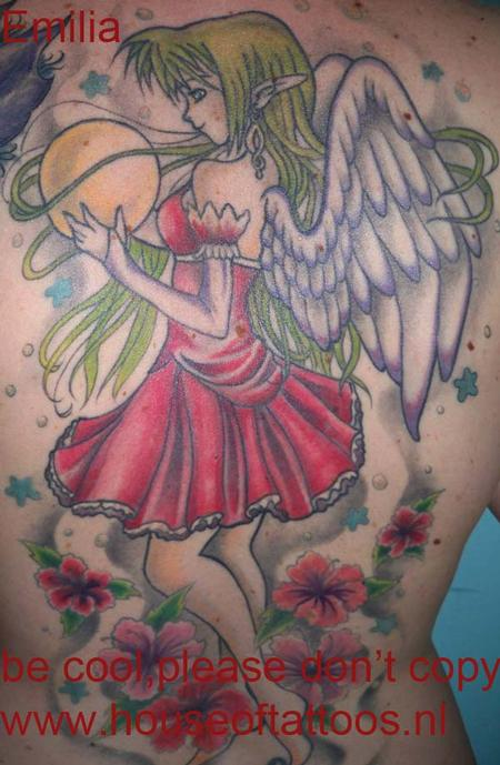 ... Color Fairy Tattoo Tattoo Design Thumbnail ...